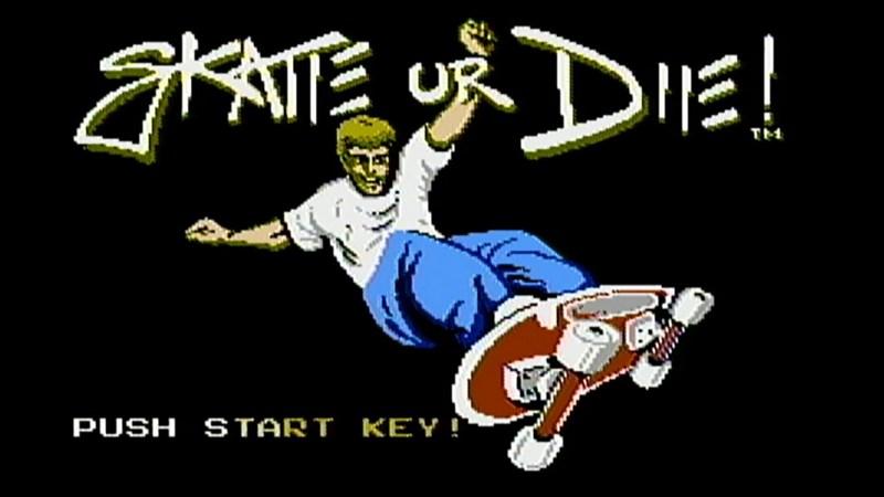 Skate-or-Die NES Nintendo