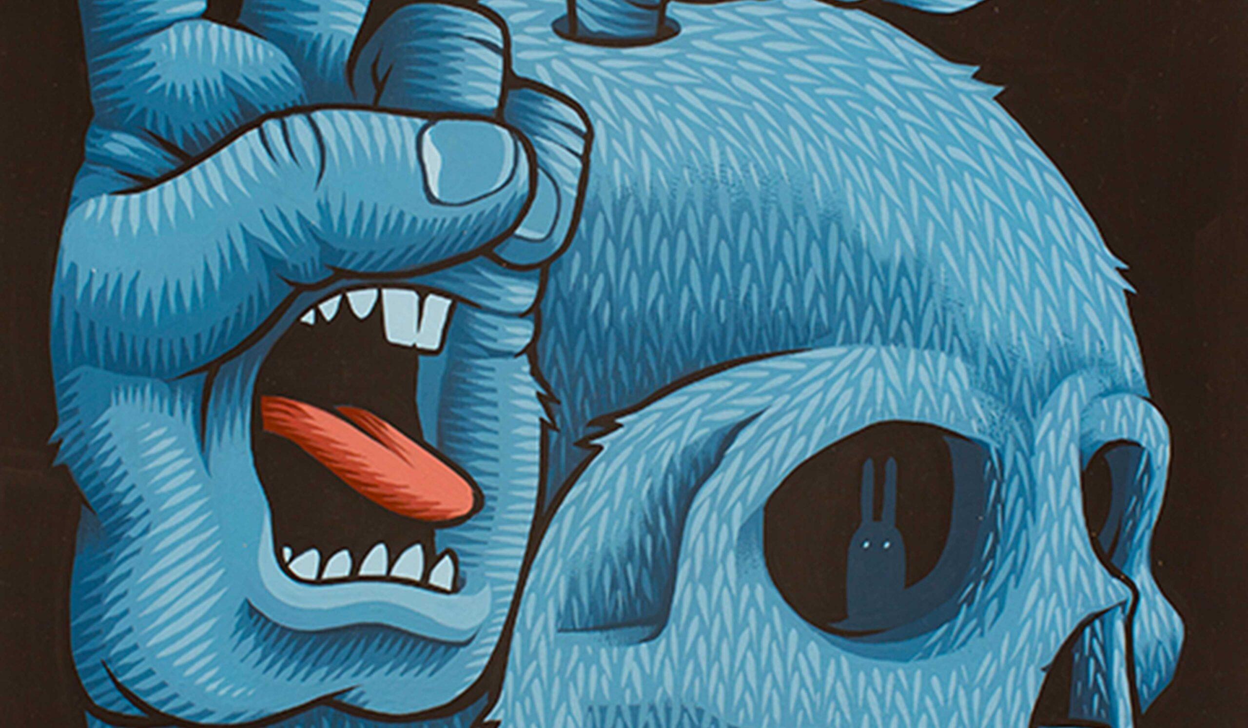 The Screaming Hand di Jim Phillips e Santa Cruz