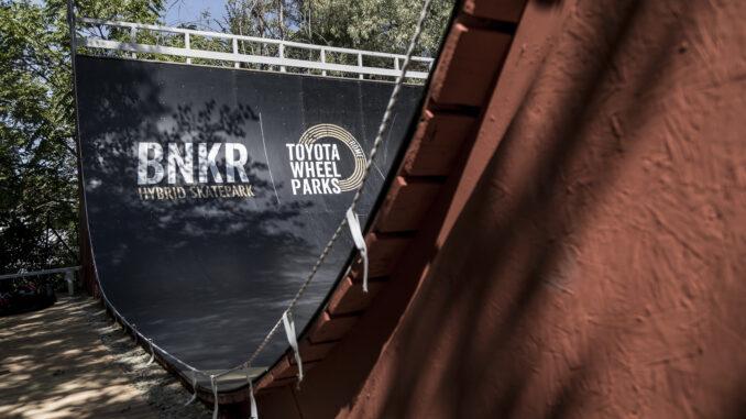 BNKR Hybrid Skate Park - Roma