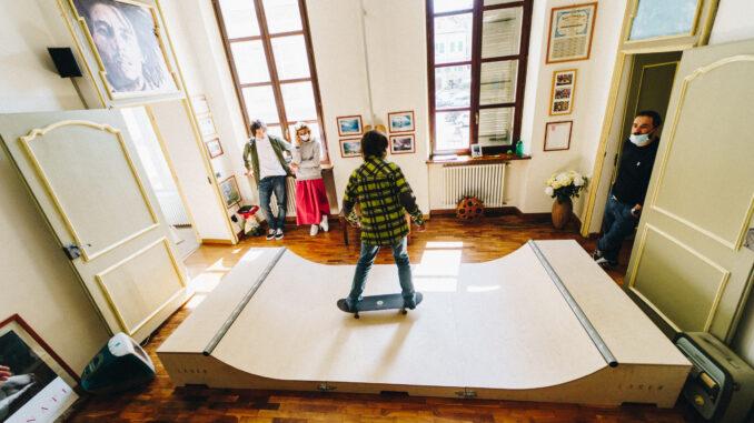 Laser Skateboarding: Skatertainment, l'entertainment nello skaterboarding. Divertimento, creatività e contaminazione tra design e arte