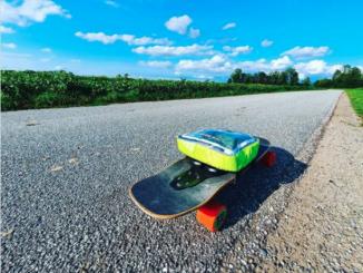 e-skate da record