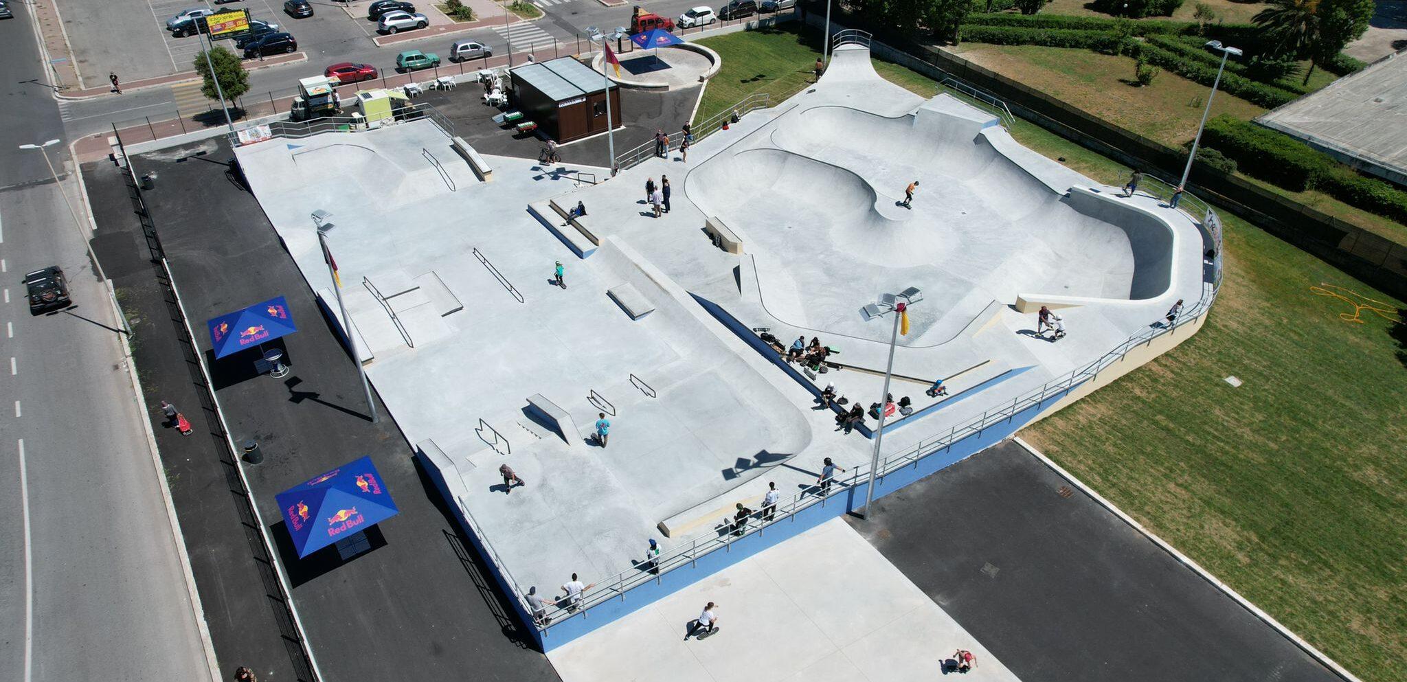 The Spot Skatepark ostia